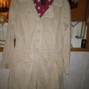 Large Tommy Hilfiger trench coat in tan